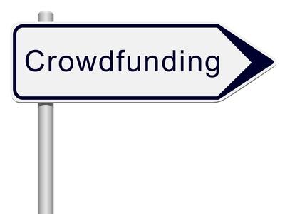 Panneau indicateur Crowdfunding