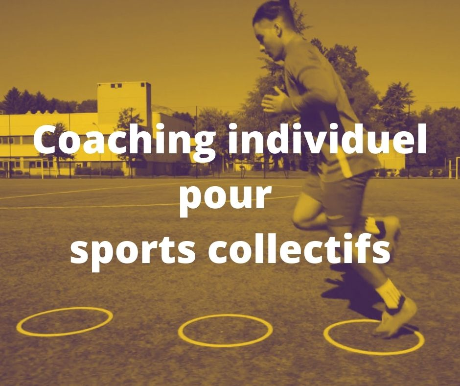 Coaching individuel pour sports collectifs